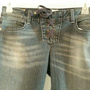 Lei vintage boho/hippie jeans